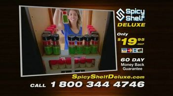 Spicy Shelf Deluxe TV Spot, 'Stackable Kitchen Organizer Spice Rack' - Thumbnail 7