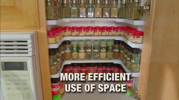 Spicy Shelf Deluxe TV Spot, 'Stackable Kitchen Organizer Spice Rack' - Thumbnail 4