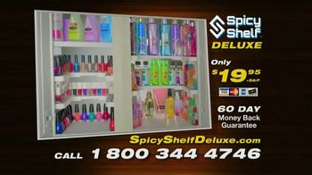 Spicy Shelf Deluxe TV Spot, 'Stackable Kitchen Organizer Spice Rack' - Thumbnail 6