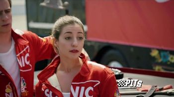Sonic Drive-In Shakes TV Spot, 'NBC Sports Network: The Pits' - Thumbnail 6