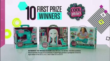 Disney Channel Create It Cool Sweepstakes TV Spot, 'Prize Pack' - 47 commercial airings