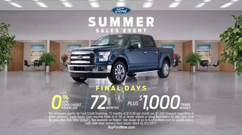 Ford Summer Sales Event TV Spot, 'Castle: F-150' Song by Owl City [T2] - Thumbnail 9