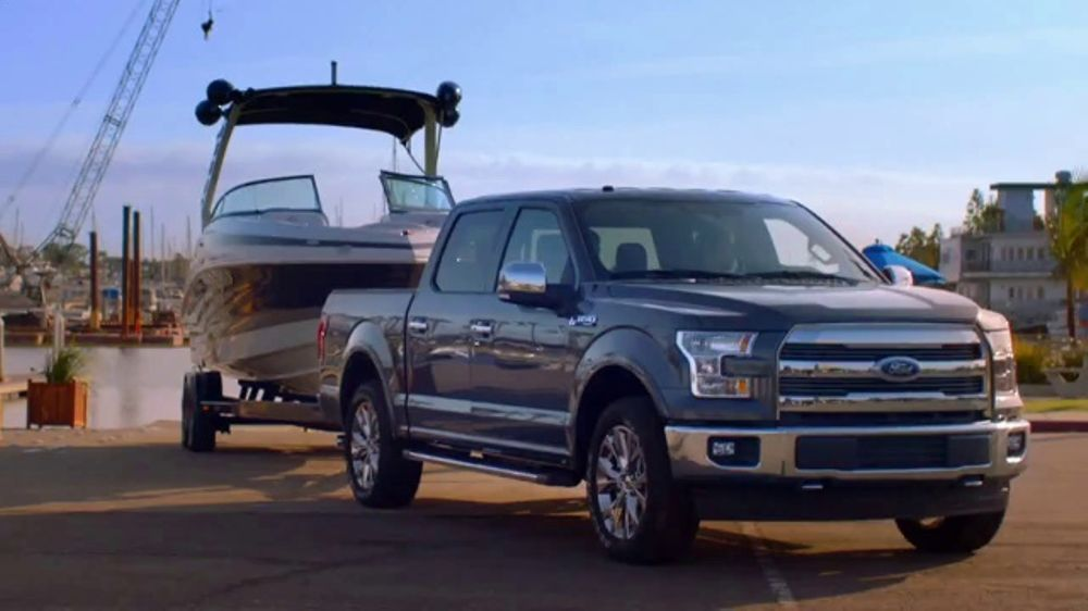 Ford Summer Sales Event Tv Commercial Pro Trailer Backup