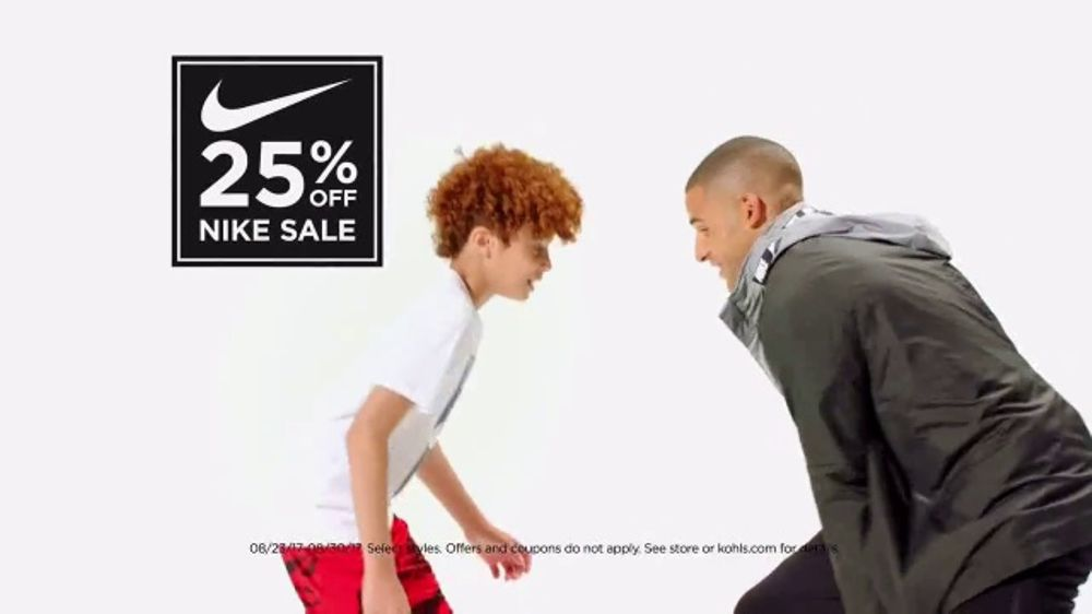c96816760ef Kohl s Nike Sale TV Commercial