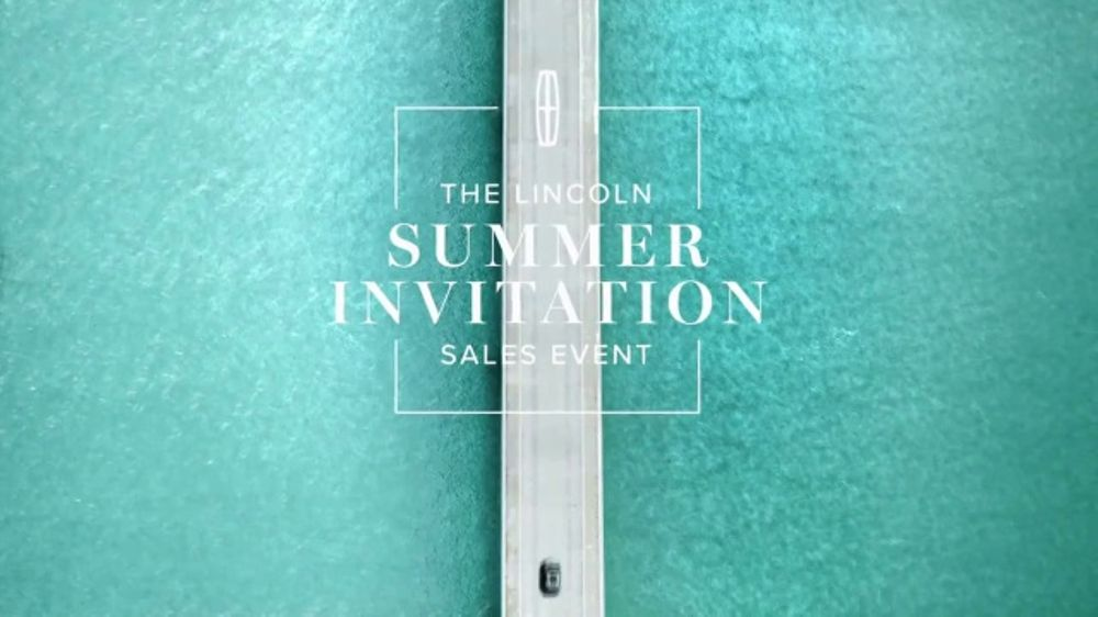 2017 Lincoln Mkc Select >> Lincoln Summer Invitation Sales Event TV Commercial, 'Getaway' [T2] - iSpot.tv