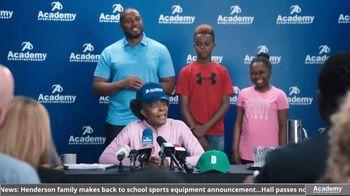 Academy Sports + Outdoors TV Spot, 'I Choose Academy: Football' - Thumbnail 7