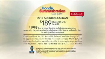 Honda Summerbration Sales Event TV Spot, 'Firefly: 2017 Accord LX Sedan' [T2] - Thumbnail 7
