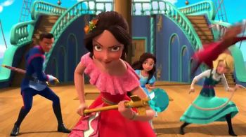 Disney Elena of Avalor Action and Adventure Doll TV Spot, 'Time to Rule' - Thumbnail 2