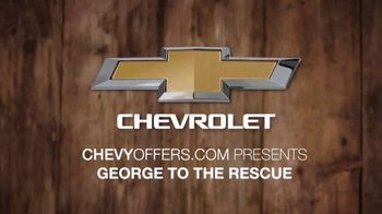 Chevrolet Tahoe TV Spot, 'NBC: Waterfalls' Featuring George Oliphant [T1] - Thumbnail 1