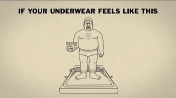Duluth Trading Company Buck Naked Underwear TV Spot, 'Mousetrap'