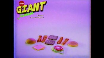 Wendy's Giant Jr. Bacon Cheeseburger TV Spot, 'G-G-G-GIANT JUNIOR!' - Thumbnail 10