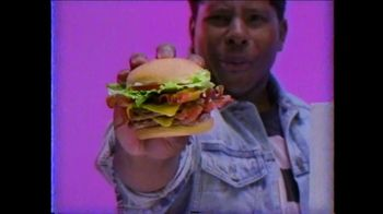 Wendy's Giant Jr. Bacon Cheeseburger TV Spot, 'G-G-G-GIANT JUNIOR!' - Thumbnail 2