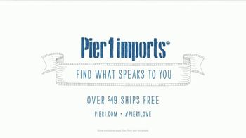Pier 1 Imports TV Spot, 'Getting Social' - Thumbnail 9