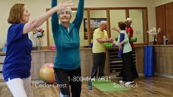 Erickson Living TV Spot, 'Cedar Crest & Seabrook'
