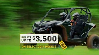Can-Am Yellow Tag Event TV Spot, 'A Hard Day's Play' - Thumbnail 2