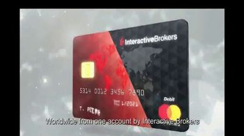 Interactive Brokers Debit Mastercard TV Spot, 'Borrow, Earn, Spend, Invest' - Thumbnail 6
