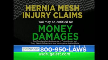 Goza Honnold Trial Lawyers TV Spot, 'Hernia Mesh Injury'