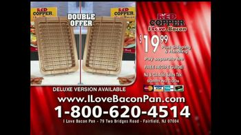 Red Copper I Love Bacon Pan TV Spot, 'The Healthier Way' - Thumbnail 5