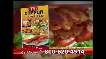 Red Copper I Love Bacon Pan TV Spot, 'The Healthier Way' - Thumbnail 4