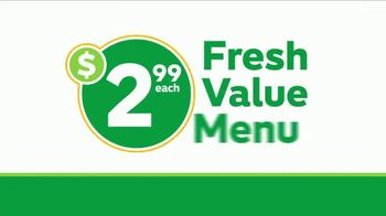 Subway $2.99 Fresh Value Menu TV Spot, 'Five Great Subs' - Thumbnail 8
