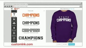 CustomInk TV Spot, 'Friday Night Shirts: State Champions' - Thumbnail 4