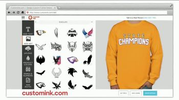 CustomInk TV Spot, 'Friday Night Shirts: State Champions' - Thumbnail 5