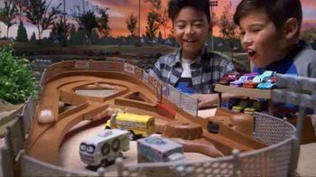 Disney Pixar Cars 3 Thunder Hollow Criss-Cross Trackset TV Spot, 'Derby' - 580 commercial airings