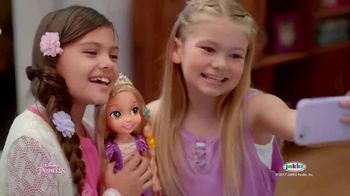 Disney Princess Tangled Glow N' Style Rapunzel TV Spot, 'Golden Hair'