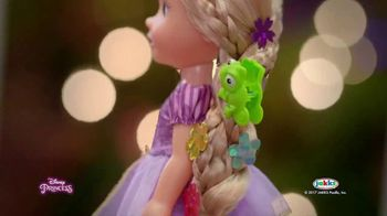 Disney Princess Tangled Glow N' Style Rapunzel TV Spot, 'Golden Hair' - Thumbnail 5