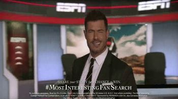 Dos Equis Most Interesting Fan TV Spot, 'ESPN: Statue' Feat. Jesse Palmer