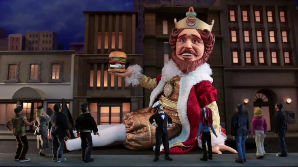 Burger King Crispy Chicken TV Commercial, 'Adult Swim: Burger King Kong'