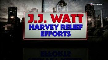 NFL Network TV Spot, 'J.J. Watt Harvey Relief Efforts' - Thumbnail 1
