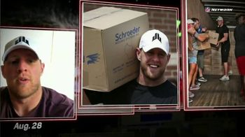 NFL Network TV Spot, 'J.J. Watt Harvey Relief Efforts' - Thumbnail 4