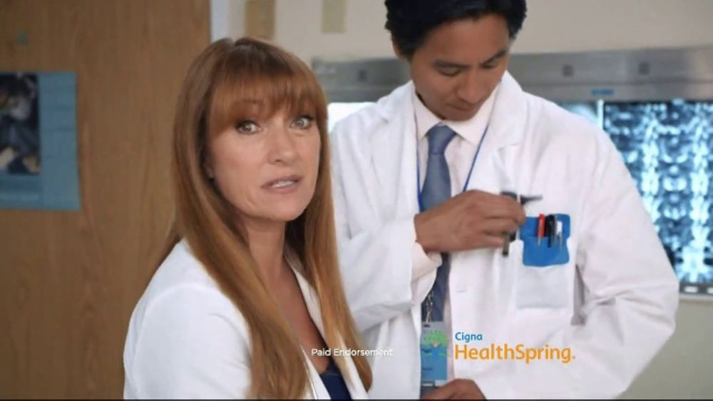 Cigna HealthSpring TV Commercial, 'Take Care of Your Health' Feat. Jane Seymour