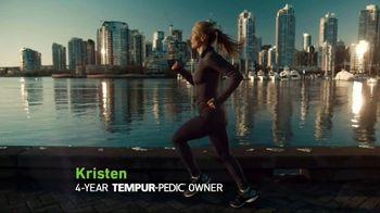 Tempur-Pedic Labor Day Event TV Spot, 'Feeling Powerful' Ft. Kristen Hetzel - 2528 commercial airings