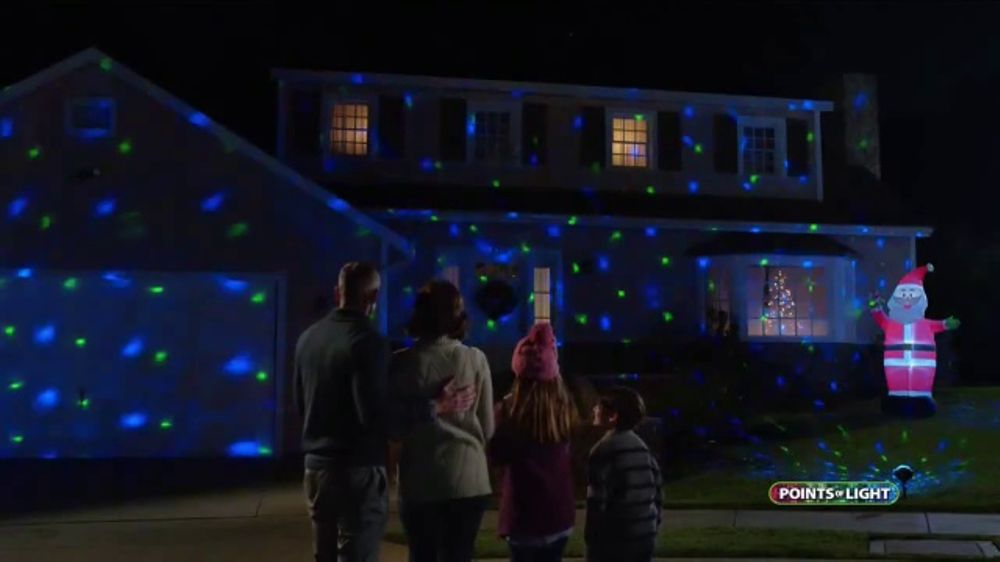 Points of Light Halloween Projector TV Commercial, 'Dazzling ...