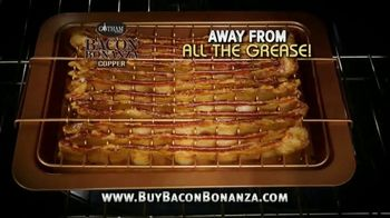 Gotham Steel Bacon Bonanza TV Spot, 'Best Bacon Ever: Free Chef's Knife'