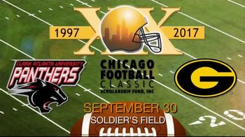 Chicago Football Classic Scholarship Fund TV Spot, 'Tigers vs. Panthers'