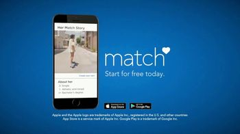 Match.com TV Spot, 'Match Stories: Montage' - Thumbnail 7