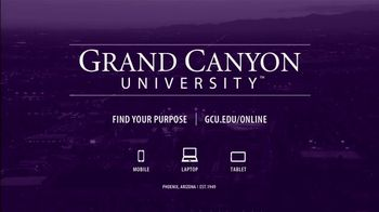 Grand Canyon University TV Spot, 'Time to Earn Your Degree at GCU' - Thumbnail 9