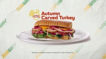 Subway Autumn Carved Turkey TV Spot, 'Inspiration' - Thumbnail 6