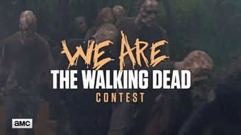 AMC TV Spot, 'We Are The Walking Dead Contest' - 136 commercial airings