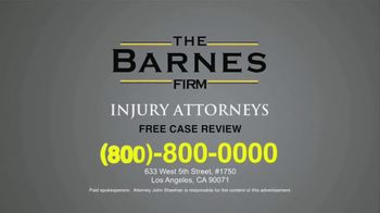 The Barnes Firm TV Spot, 'Injury Compensation' - Thumbnail 6