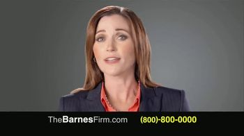 The Barnes Firm TV Spot, 'Injury Compensation' - Thumbnail 1