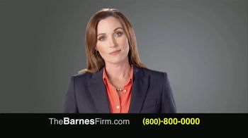 The Barnes Firm TV Spot, 'Injury Compensation' - Thumbnail 3