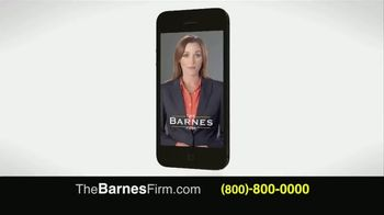 The Barnes Firm TV Spot, 'Injury Compensation' - Thumbnail 4