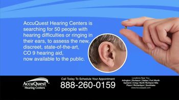 AccuQuest Hearing Centers TV Spot, '30 Day Assessment'