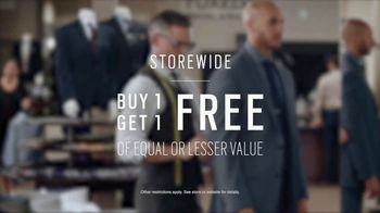 Men's Wearhouse TV Spot, 'The Tailor: Buy One, Get One' - Thumbnail 6