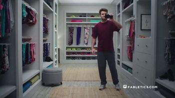 Fabletics.com TV Spot, 'Closet: Leggings for Everything and Everyone'