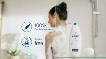Dove Deep Moisture Body Wash TV Spot, 'Wash Label' - Thumbnail 8